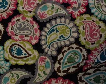 Roco Beat Paisley Fabric - 1 YARD