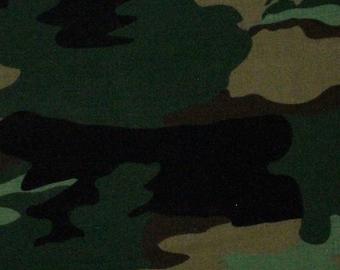 Camo Fabric - 1 YARD