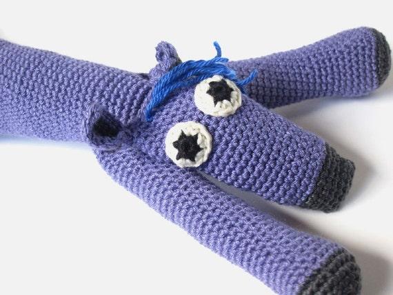 Crochet Animal Toy, Kids Stuffed Animal, Handmade Children Toy, Plush Softie