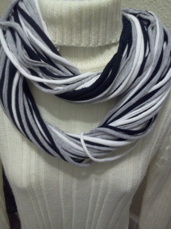 Infinity T Shirt Scarf