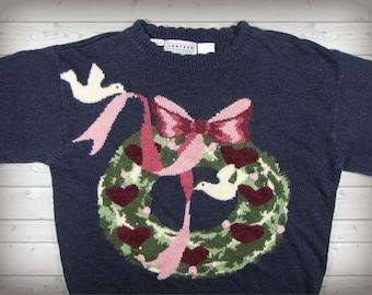 Ugly Christmas Wreath Sweater