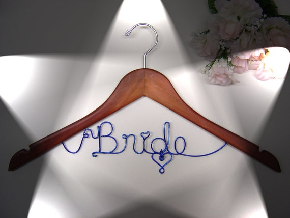 One line hanger, Personalized Custom Bridal Hanger, Brides Hanger, Bride, Name Hanger, Wedding Hanger, Personalized Bridal Gift