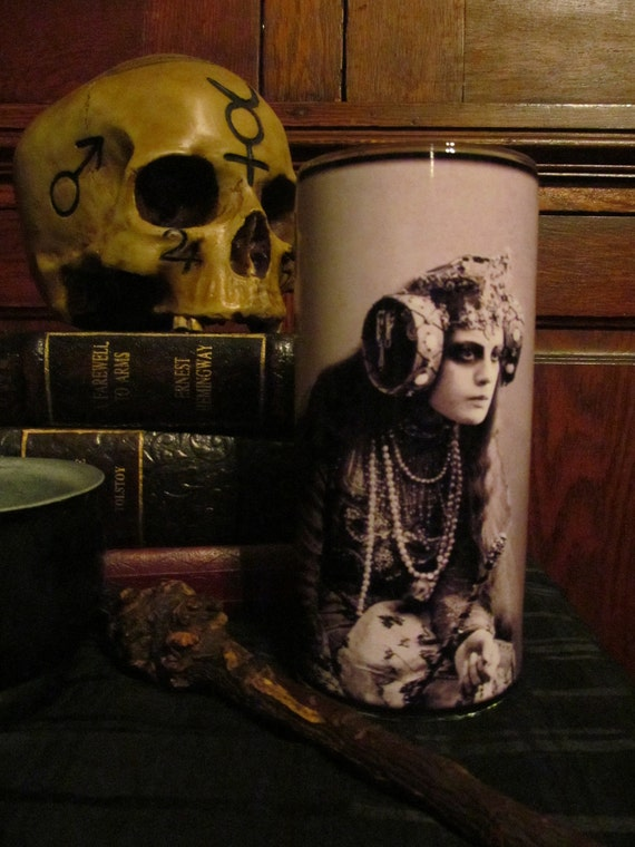 The Sorceress Candleholder