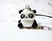 Kawaii Panda Cell Phone Charm