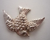 Sterling Silver Swallow Casting .925