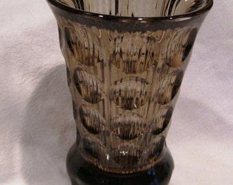 Mid Century Sklo Union Lens Vase
