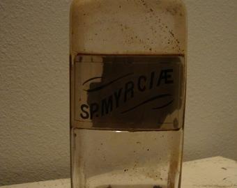 Primitive  Apothecary  Medicine Bottle~~~REAL Antique item~~~ Halloween Collection Decor~~~~