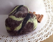Olive oil felted soap- 2 Felted Soap