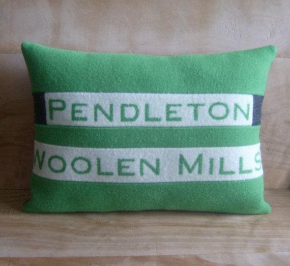 SALE - Pendleton Wool Pillow, 12x16