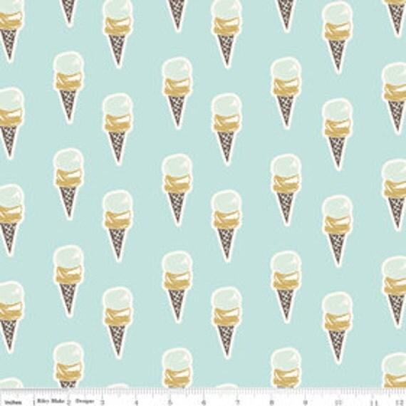 Paris & Company ice cream cones by Carina Gardner of My Minds Eye Riley Blake Designs  100% cotton, pattern C2912 -  1 yard