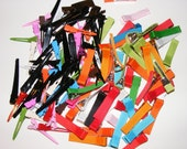 Ribbon Covered Alligator Clips and Colored Alligator Clips