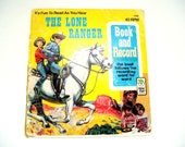 Retro Illustrations- The Lone Ranger, 1977