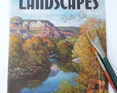 Vintage Landscapes Walter Foster How to Draw and Paint Landscapes Instructional Book Landscape Paining