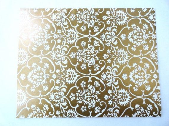 Vintage Wedding Wrapping Paper Hallmark / Vintage Wedding Gift Wrap / Vintage Christmas Wrap