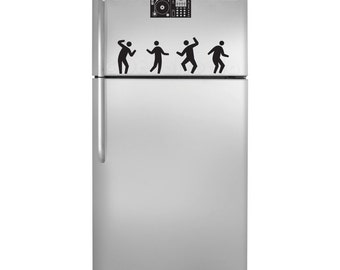 Party in the Kitchen Fridge Decal