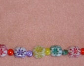 Bracelet--Bright Beads in Multiple Colors--Fun to Wear--Free Shipping in U.S.