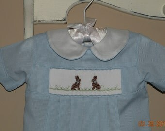 Baby Boy Bunny Gown                                                 Size 0-3mo