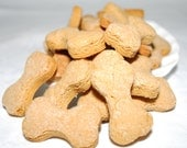 Peanut Butter Bones (Vegan) - Oven Baked Dog Cookies and Treats