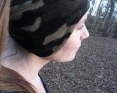 Clearance Sale - 50% OFF --Snuggly Soft Fleece Ear Warmers - Camoflage