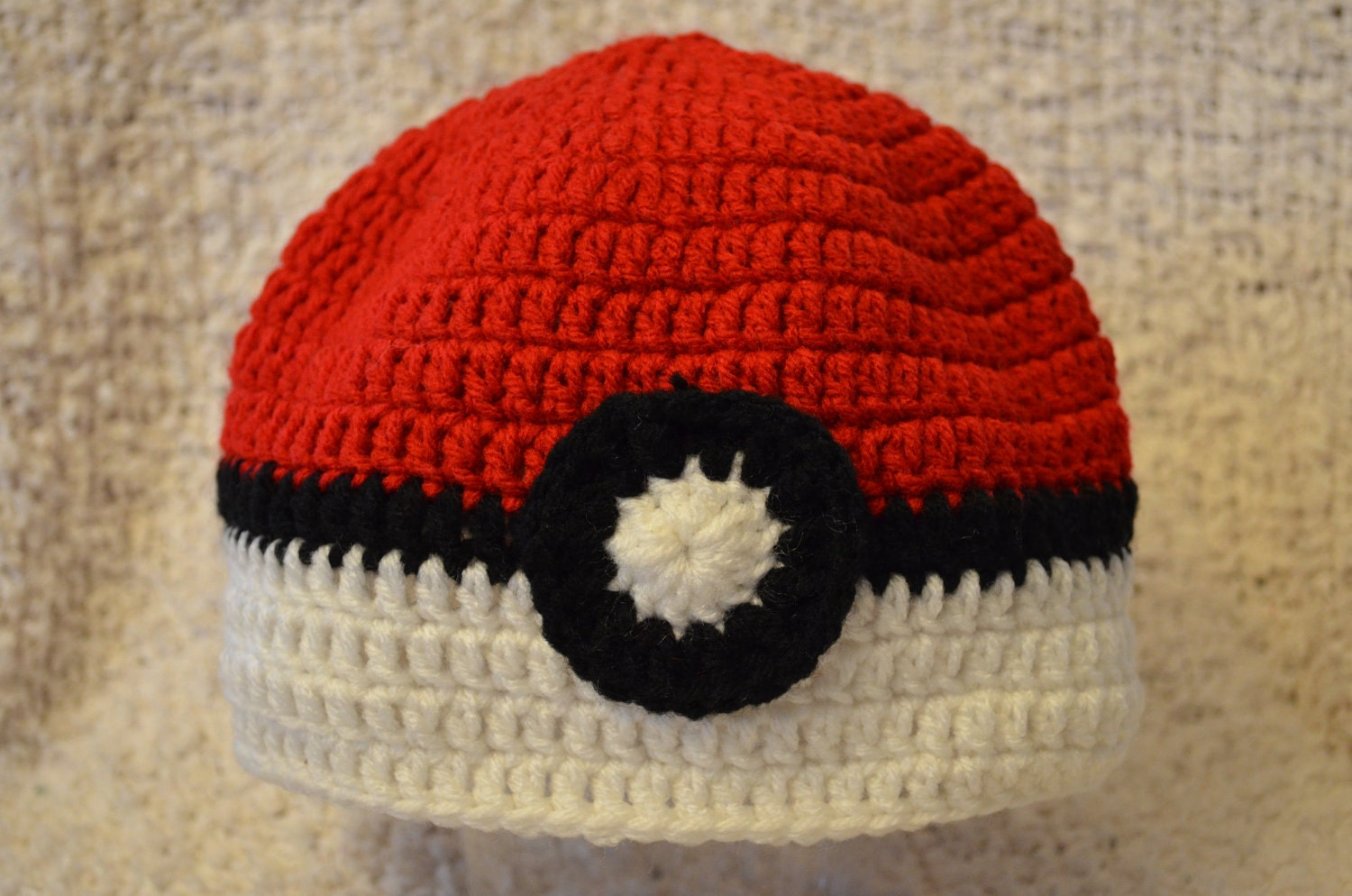 Crocheted Video Game Beanie Hat Kids Fun Youth to Teen MADE TO