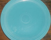 """Fiesta Turquoise 13"""" Chops Plate"""