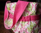 Small Organizing Tote Made to Order, Can be Monogrammed