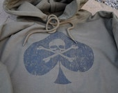 Death Spade Ace of Spades Military Recon hoodie size large or choice of S,M,L,XL