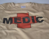 Medic military doctor t shirt army tactical medic paramedic doctor military gift
