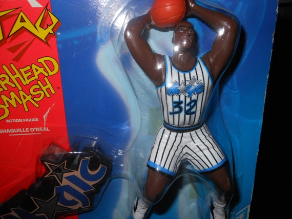 unopened Shaquille O'Neal basketball action figure