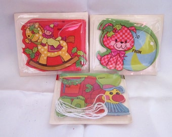Cute Selection of Vintage Christmas Tags