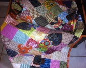 Scrappy Hearts & Patches Quilt