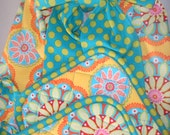 Gypsy Bandana 50's Style Retro Apron and Pot Holder Set