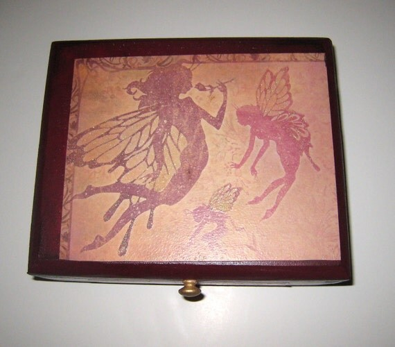 fantasy FAIRY CIGAR BOX