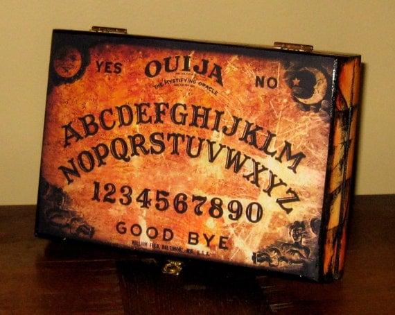 OUIJA BOARD BOX from a restored cigar box