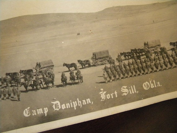 Antique Yard Long Military Photograph