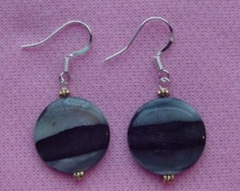 Round Pierced Earrings