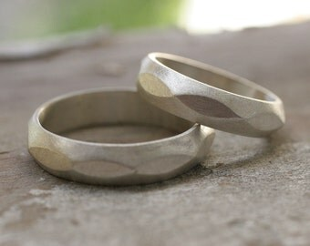 Wedding band set (2 rings)