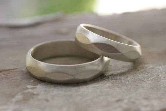 Wedding band set (2 rings)