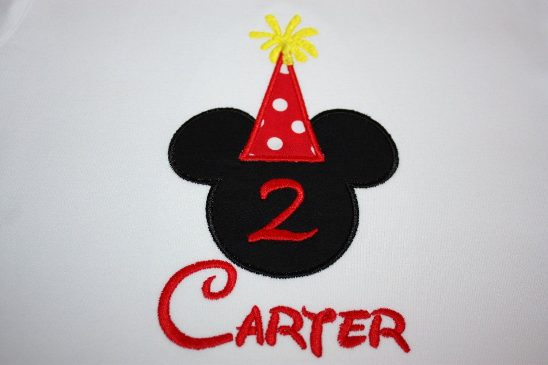 mickey mouse birthday shirts