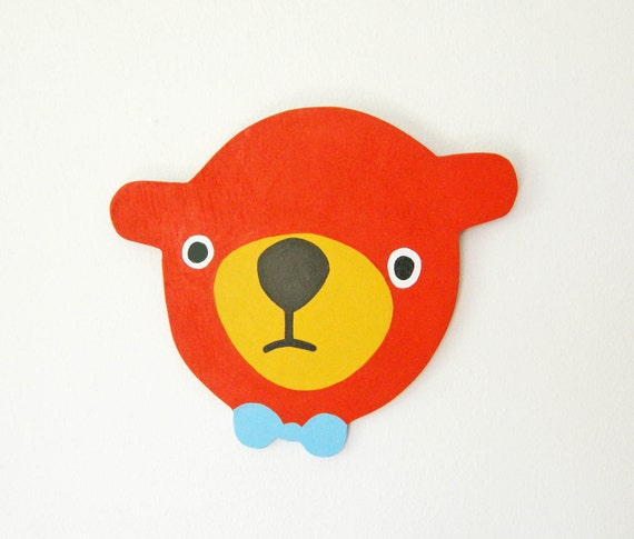Red Orange Bear