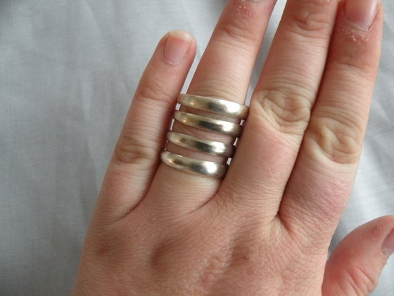Four Prong Fork Ring