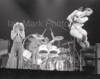 The Who 8x12 Photo 1976                                                              Image registered at the United States Copyright Office
