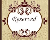 Reserved for Genevieve Page