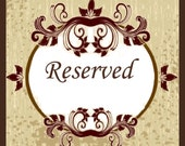 Reserved for Christina Hershey