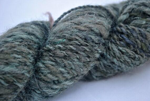Handspun Copper Dyed Yarn, 2 ply