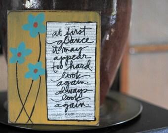 handmade card for encouragement