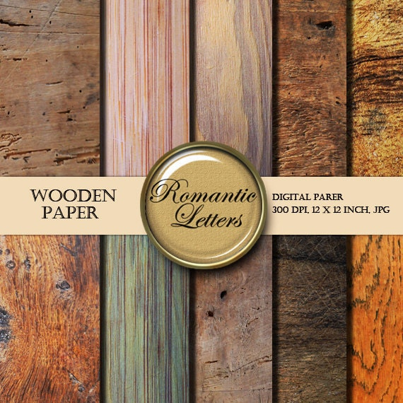 Wood Texture digital paper pack digital Scrapbooking paper background wood texture digital wood textured paper pack digital backdrop wood