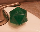 Green D20 Soap