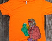 Jim Henson Men's Alstyle Tee Shirt Culture Cloth Zinc Collection