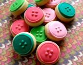 Button Sugar Cookies - 2 Dozen